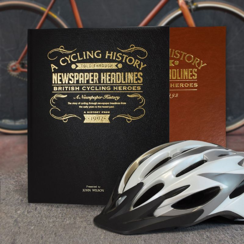 British Cycling History - Newspaper Book | Sweet and Nostalgic